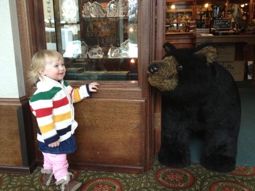 puppy??? no, bear....ROAR!